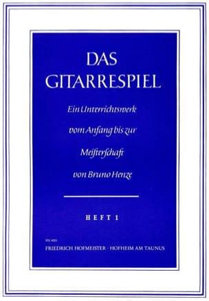 Bruno Henze - Das Gitarrespiel - Volume 1 - Sheet Music - di-arezzo.co.uk