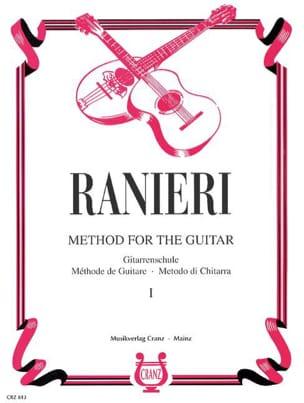 Méthode de guitare - Volume 1 - Silvio Ranieri - laflutedepan.com