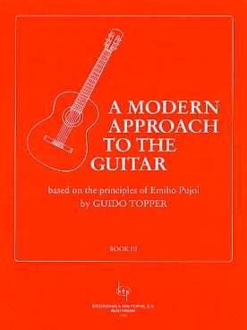 Guido Topper - A modern approach to the guitar - Volume 3 - Partition - di-arezzo.fr