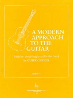 Guido Topper - A Modern Approach To The Guitar Volume 4 - Sheet Music - di-arezzo.co.uk