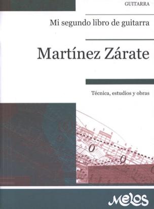 Jorge Martinez Zarate - Mi segundo libro de guitarra - Partition - di-arezzo.fr