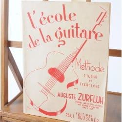 Auguste Zurfluh - La escuela de la guitarra. - Partitura - di-arezzo.es