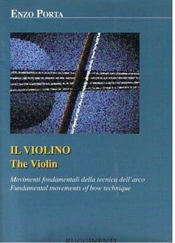 Enzo Porta - Il violino - Partition - di-arezzo.fr