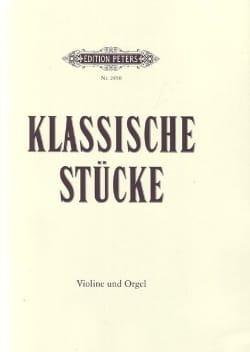 für Violine und Orgel Album - Klassische Stücke - Partition - di-arezzo.fr