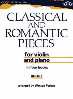 Classical and romantic pieces, Volume 1 - laflutedepan.com