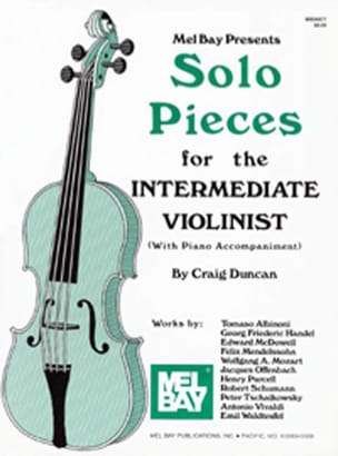 Craig Duncan - Solo Pieces for the Intermediate Violinist Sold Out - Sheet Music - di-arezzo.co.uk