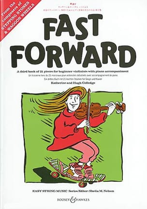 Fast Forward - Violon et Piano Partition Violon - laflutedepan