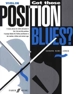Jones Edward Huws - Got those position Blues ? – Violin - Partition - di-arezzo.fr