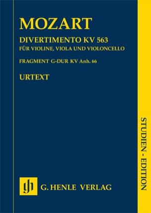 Divertimento KV 563 · Fragment KV Anh. 66 - laflutedepan.com