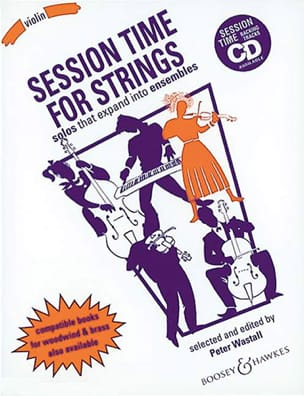 Peter Wastall - Session time for Strings - Violon - Partition - di-arezzo.fr