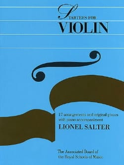 Lionel Salter - Starters For Violon - Violon et Piano - Partition - di-arezzo.fr