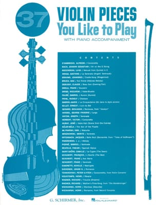 37 Violon Pieces You Like To Play Partition Violon - laflutedepan