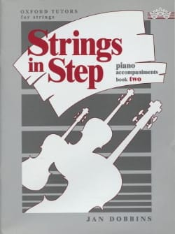 Jan Dobbins - Strings in step, book 2 - Piano accompaniments - Sheet Music - di-arezzo.com