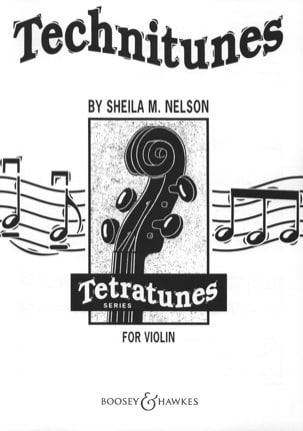 Sheila M. Nelson - Technitunes for violin - 2 Violons - Partition - di-arezzo.fr