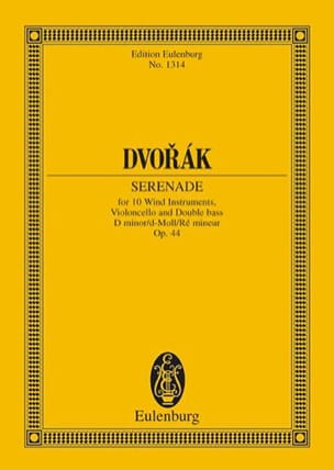 DVORAK - Serenade D-Moll, Opus 44 B 77 - Sheet Music - di-arezzo.co.uk