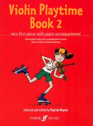Paul de Keyser - Violin Playtime book 2 - Sheet Music - di-arezzo.co.uk