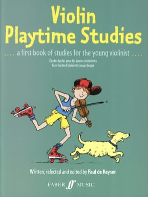 Violin Playtime studies Paul de Keyser Partition Violon - laflutedepan
