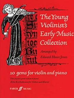 Jones Edward Huws - The young violinist's early music collection - Sheet Music - di-arezzo.com