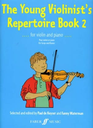 Keyser Paul de / Waterman Fanny - The Young Violonist's Repertoire Volume 2 - Partition - di-arezzo.fr