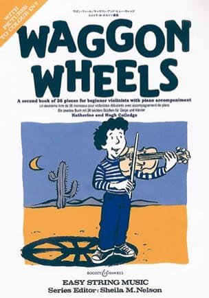 Waggon Wheels - Partition - Violon - laflutedepan.com