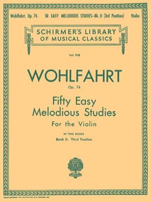 50 Easy melodious studies op. 74, Volume 2 - laflutedepan.com