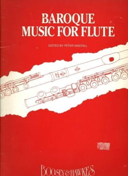 Peter Wastall - Baroque Music for Flute - Sheet Music - di-arezzo.co.uk