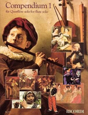 - Compendium 1 - Flute and Piano - Sheet Music - di-arezzo.co.uk