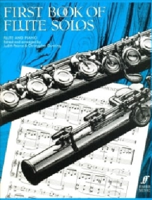 Pearce Judith / Gunning Christopher - First book of flute solos - Sheet Music - di-arezzo.com