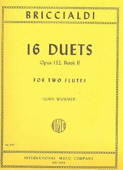 Giulio Briccialdi - 16 Duets op. 132 - Book 2 – 2 Flutes - Partition - di-arezzo.fr