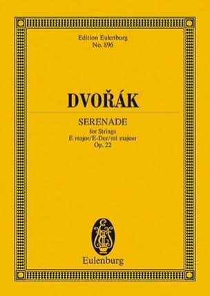 DVORAK - Serenata E-Dur, Op. 22 B 52 - Partitura - di-arezzo.es