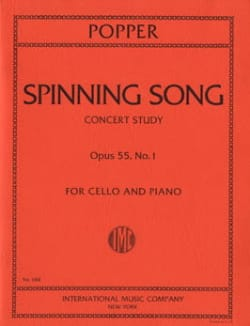 David Popper - Spinning Song op. 55 n ° 1 - Sheet Music - di-arezzo.co.uk