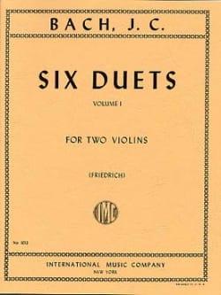 6 Duets, Volume 1 - Johann Christian Bach - laflutedepan.com