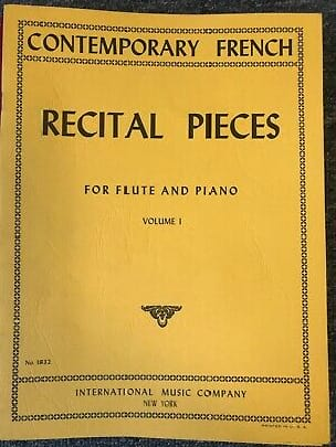 Recital pieces - Volume 1 - Flute piano - laflutedepan.com
