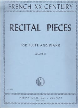 Recital pieces - Volume 2 – Flute piano - laflutedepan.com