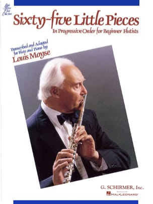 65 Little pieces – Flute piano - Louis Moyse - laflutedepan.com
