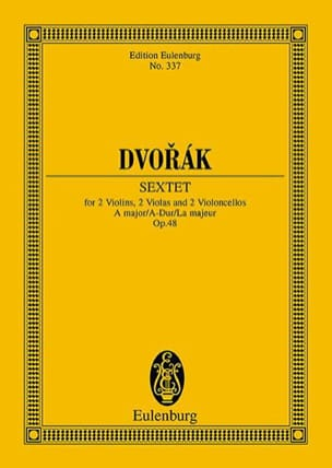 Antonin Dvorak - Sextet at Cordes, op. 48 - Driver - Sheet Music - di-arezzo.co.uk