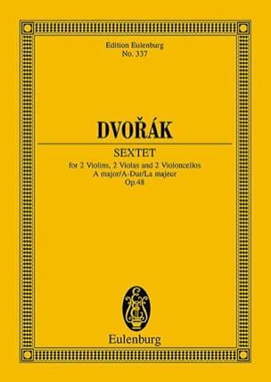 DVORAK - Sextuor à Cordes, op. 48 - Conducteur - Partition - di-arezzo.fr