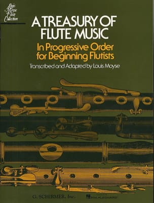 A Treasury of Flute Music Louis Moyse Partition laflutedepan