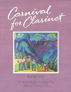 Carnival for Clarinet - Volume 1 - laflutedepan.com