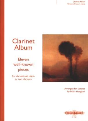 Clarinet Album Peter Hodgson Partition Clarinette - laflutedepan