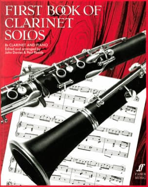First book of clarinet solos Davies John / Reade Paul laflutedepan