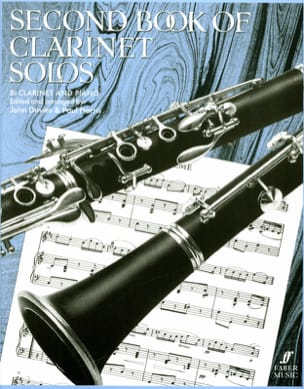Second book of clarinet solos Davies John / Harris Paul laflutedepan