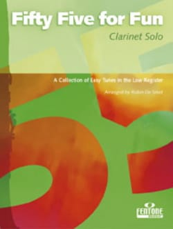 55 For fun – Clarinette Solo - Partition - di-arezzo.fr