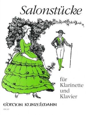 Salonstücke - Partition - Clarinette - laflutedepan.com