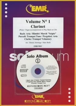 Solo Album - Volume 1 -Clarinette laflutedepan