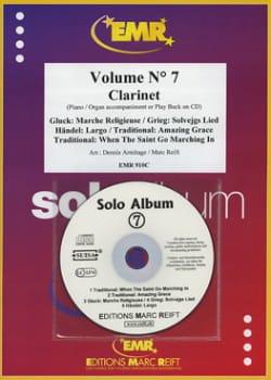 Solo Album - Volume 7 - Clarinette - laflutedepan.com