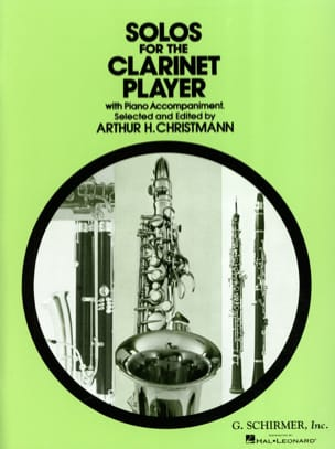 Solos for the clarinet player - laflutedepan.com
