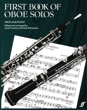 Craxton Janet / Richardson Alan - First book of Oboe solos - Partition - di-arezzo.fr
