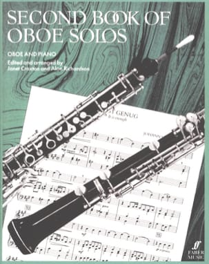 Craxton Janet / Richardson Alan - Second book of oboe Solos - Partition - di-arezzo.fr
