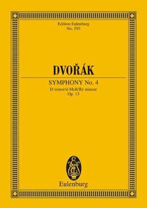 Antonin Dvorak - Sinfonie Nr. 4 d-moll - Partition - di-arezzo.fr